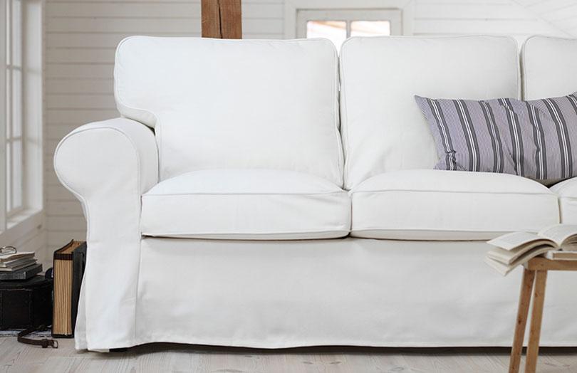 test et avis sur le canap 2 places en tissu ektorp tests avis. Black Bedroom Furniture Sets. Home Design Ideas