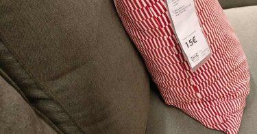 kivik ikea : vue en mode assise