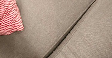 canapé kivik ikea vue sur les coussins