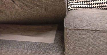 canapé kivik de ikea vue sous les coussins d'assise