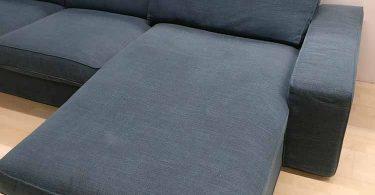 canapé kivik 3 places avec meridienne