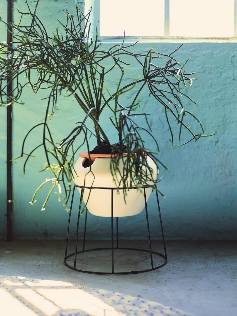 Ikea PS 2017 socle pot plantes
