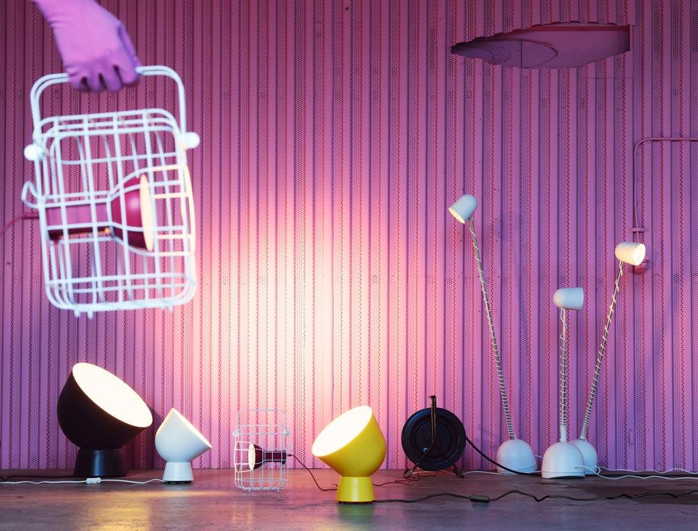 jeu de lampes industrielle ikea PS 2017