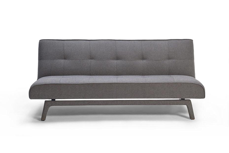 canapé convertible, gris taupe