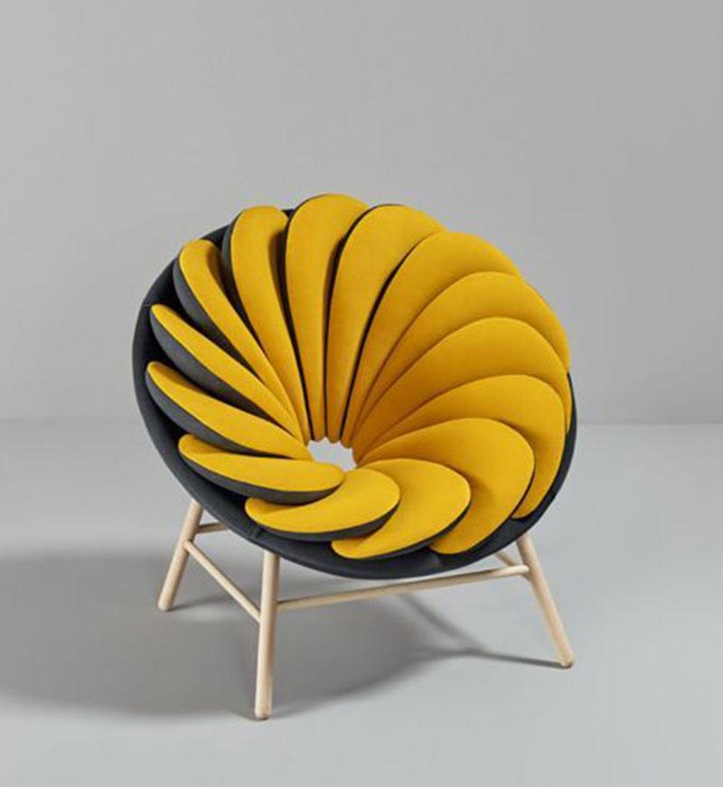 Fauteuil jaune la couleur intemporelle et tendance