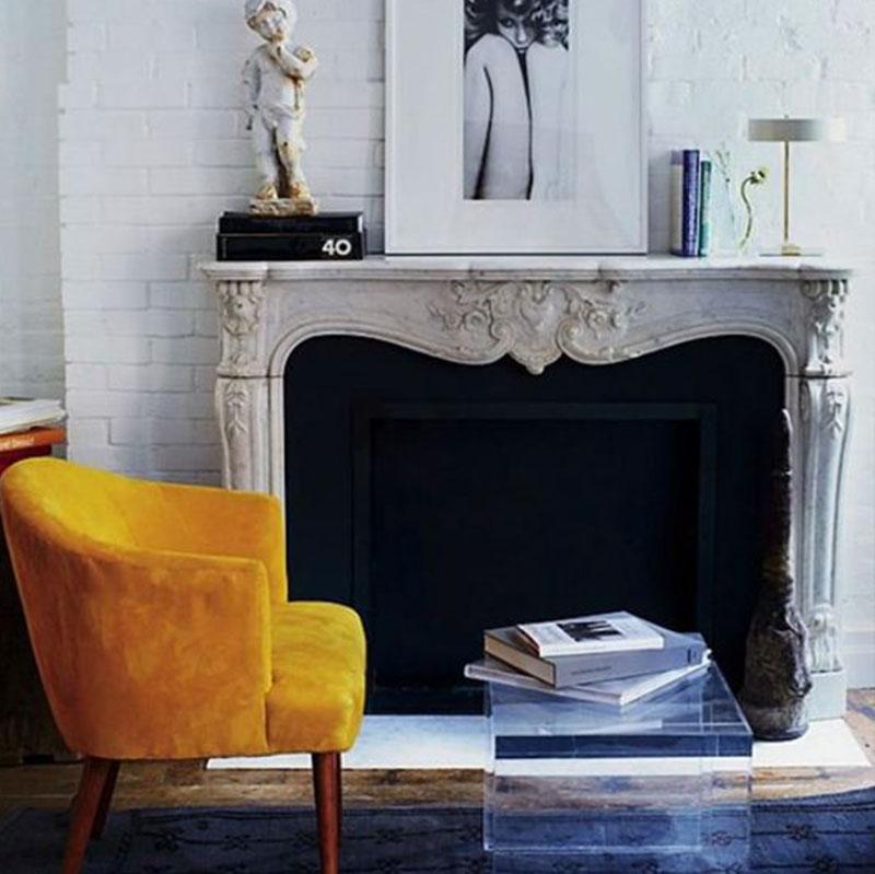 Fauteuil jaune la couleur intemporelle et tendance - Fauteuil original salon ...