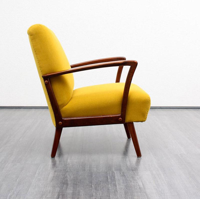 Fauteuil Jaune Vintage fauteuil jaune : la couleur intemporelle et tendance