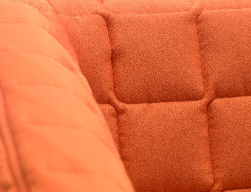 gros plan housse de canapé knopparp