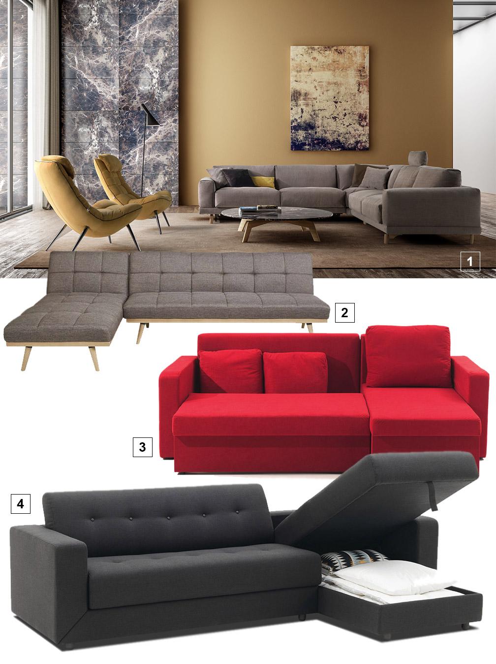 serie de canapés d'angle de style
