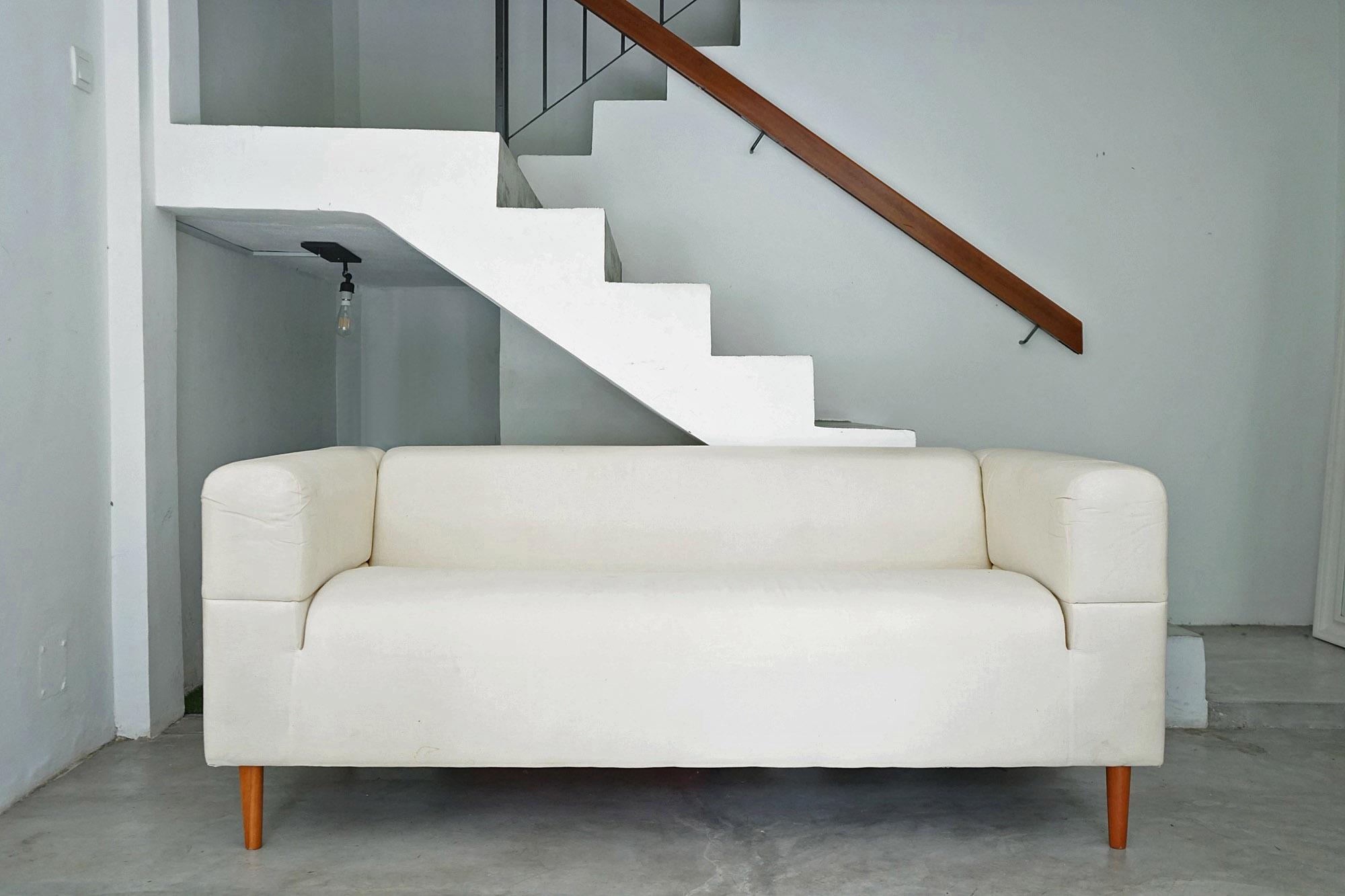 canapé klippan après achat sur IKEA