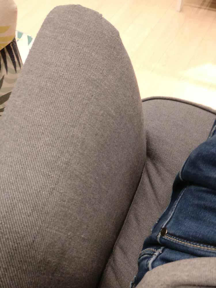 accoudoir du fauteuil à oreilles ikea