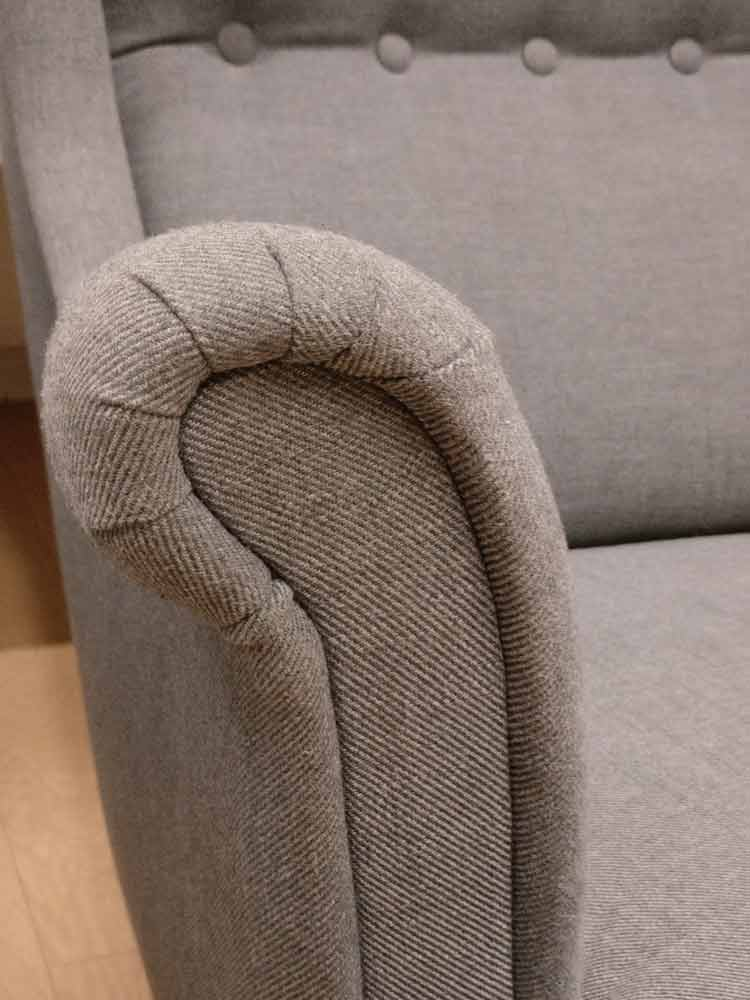 detail accoudoirs ikea fauteuils