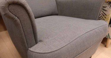 fauteuil ikea gris