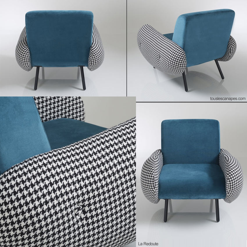 Photos du fauteuil vintage Watford de La Redoute