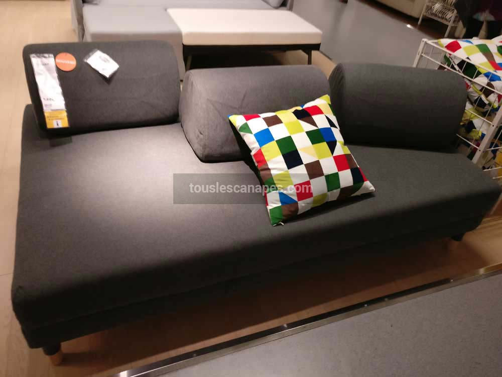 test et avis du canap convertible flottebo de chez ikea. Black Bedroom Furniture Sets. Home Design Ideas