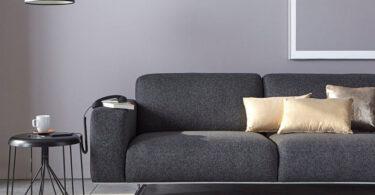 décorer son salon avec un canapé gris anthracite