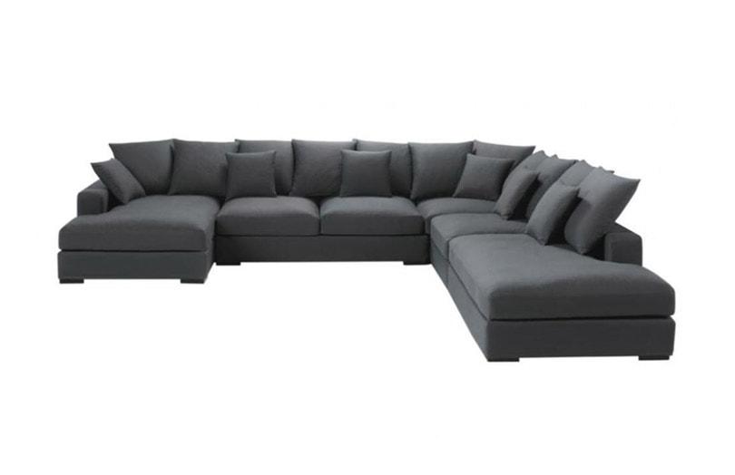 test avis canap d 39 angle 7 places loft de maisons du monde. Black Bedroom Furniture Sets. Home Design Ideas