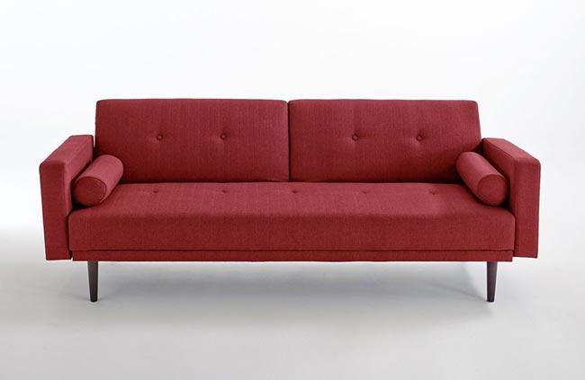 test et avis canap convertible tuske le clin d oeil aux ann es 60. Black Bedroom Furniture Sets. Home Design Ideas