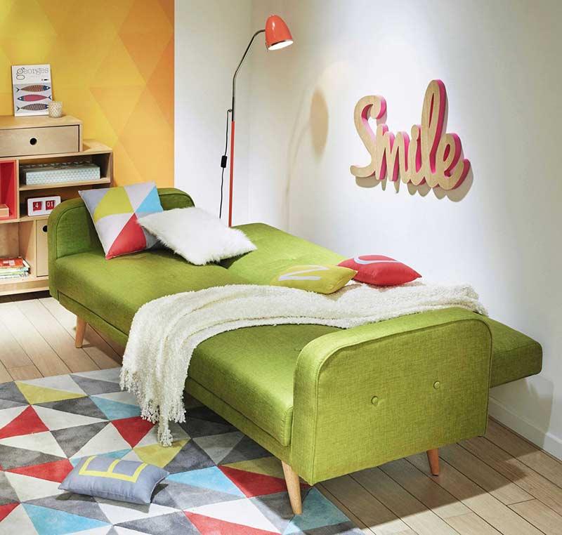 test et avis du canap clic clac broadway de maisons du. Black Bedroom Furniture Sets. Home Design Ideas