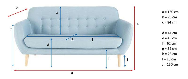 dimensions canape iceberg maisons du monde