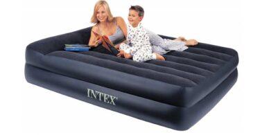 matelas gonflable electrique rest bed intex