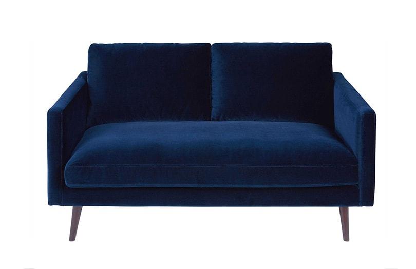 canap kant look vintage en velours chez maisons du. Black Bedroom Furniture Sets. Home Design Ideas