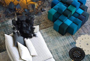 Canapé confortable et design pour un salon chic et contemporain