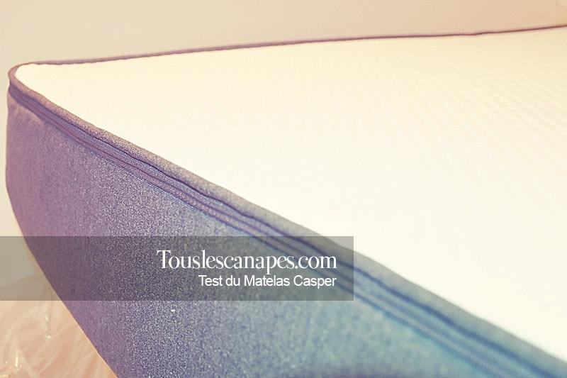 Avis sur le matelas americain Casper - test touslescanapes.com