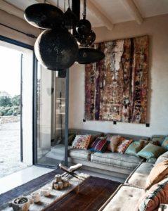 Salon cosy de style marocain
