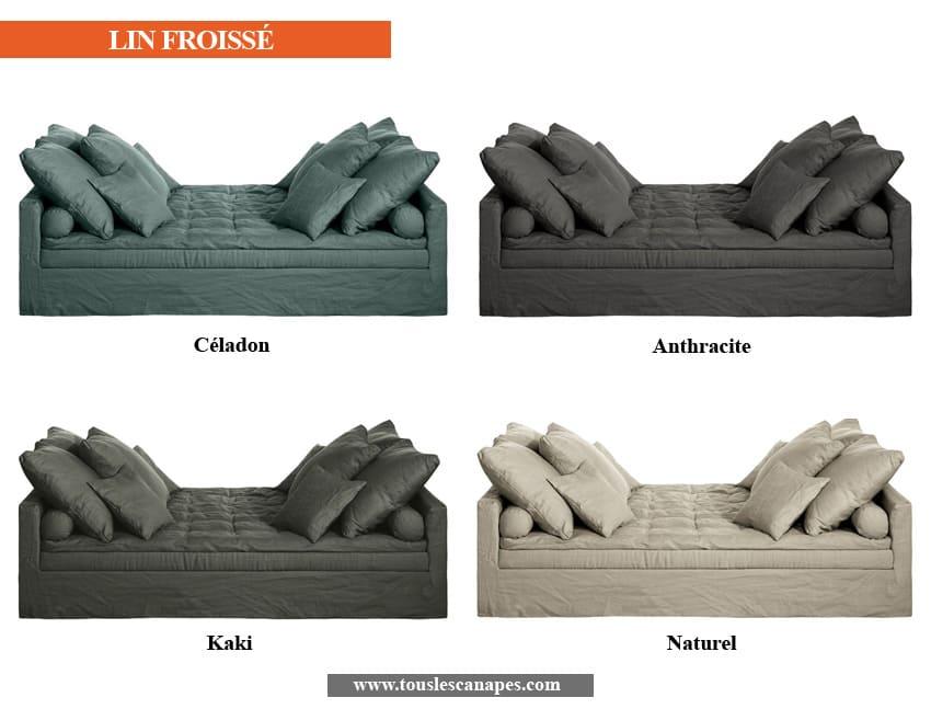 Revêtements et coloris du canapé d'angle LEVINAS de AMPM