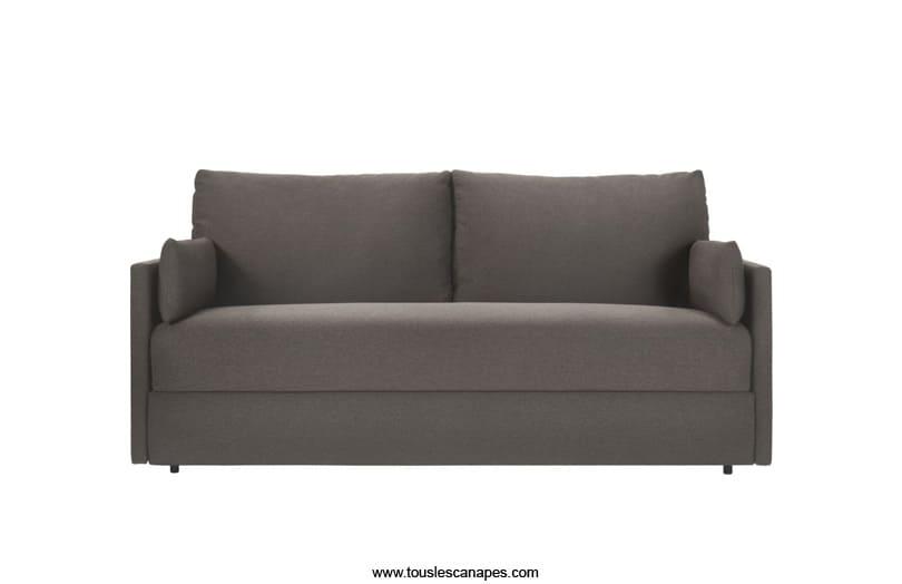 Test & Avis : Canapé-lit CARL Habitat = Compact + Confortable