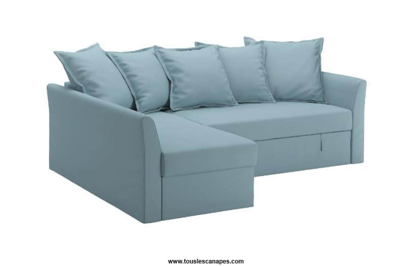 Canapé HOLMSUND IKEA = Confortable + Pratique + Abordable