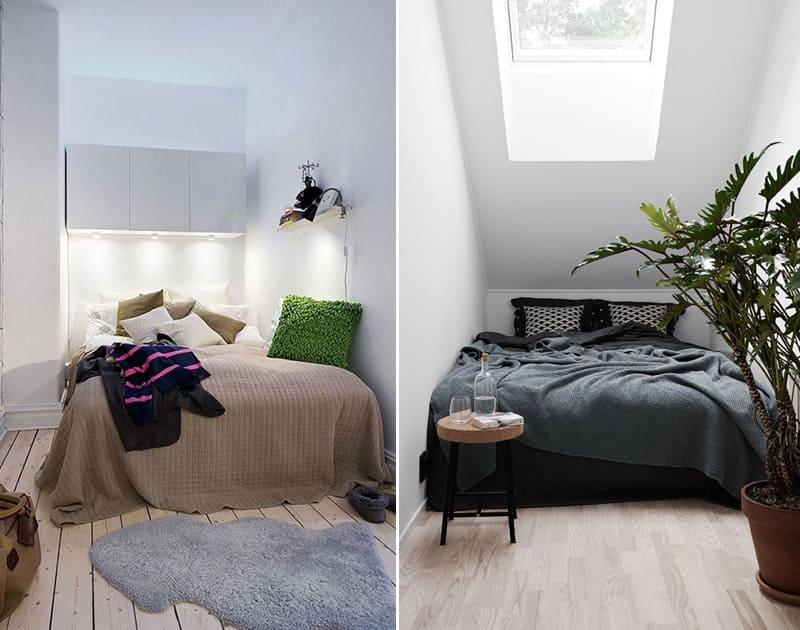 5 conseils pratiques + exemples : Aménager une chambre de 9m2 !