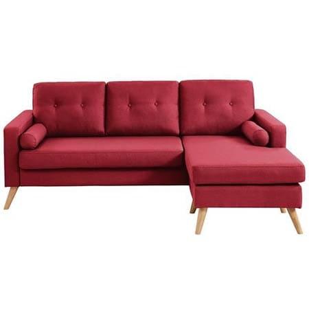 Petit canapé d'angle réversible Ibra