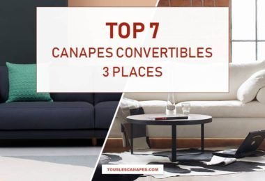 Comparatif meilleurs canapés convertibles 3 places