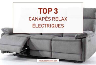 Comparatif meilleurs canapés relax électriques