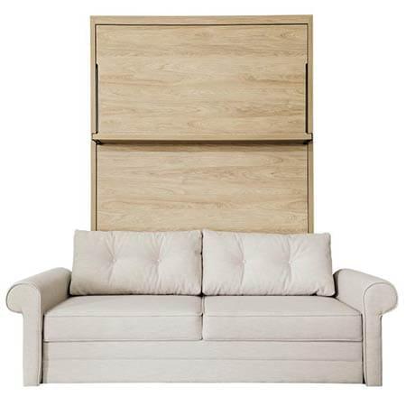 lit escamotable avec canapé Leggio