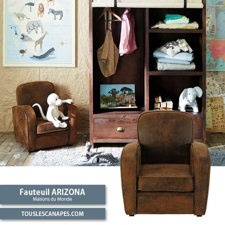 Fauteuil club enfant Arizona chez Maisons du Monde