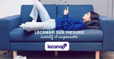 Lecanap & concept : le canapé modulaire évolutif et responsable