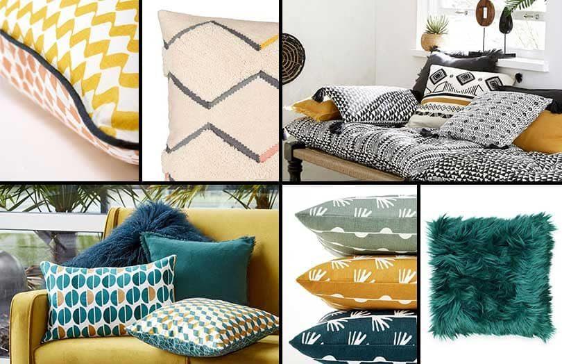 comment decorer un canapé avec des coussins