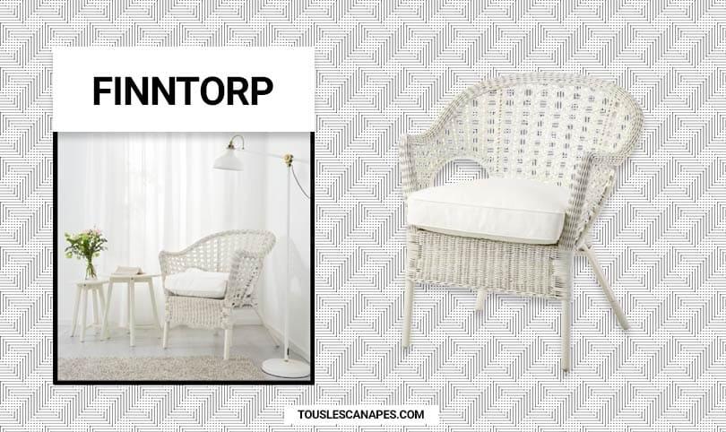 Fauteuil Ikea Finntorp : résistant, confortable et beau