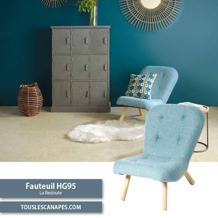 Fauteuil scandinave HG95 de made in meubles