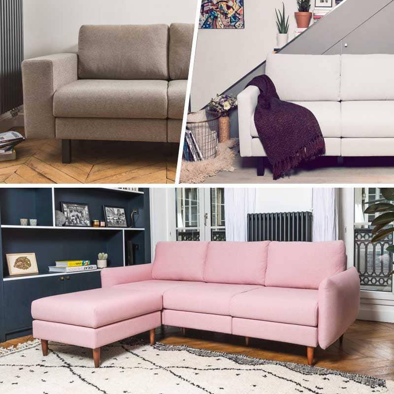 concept LeCanap pour meubler et aménager le salon