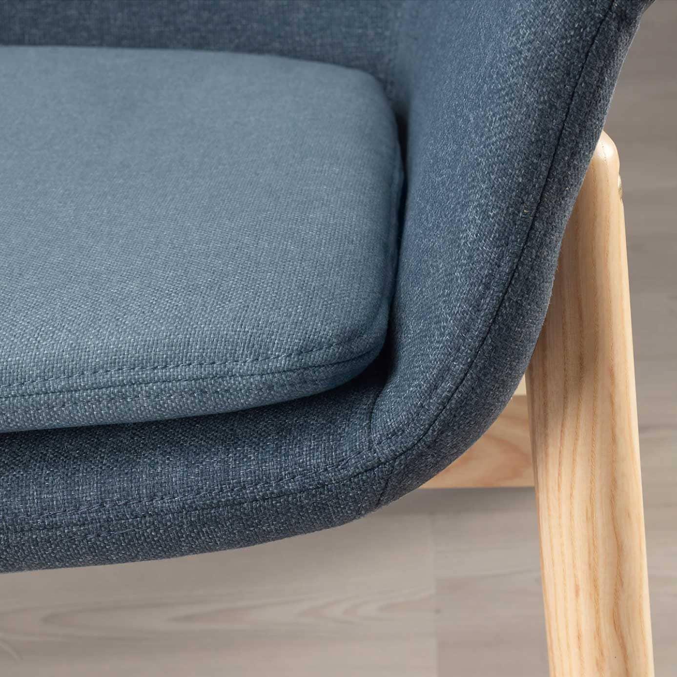 Assise de fauteuil confortable et déhoussable