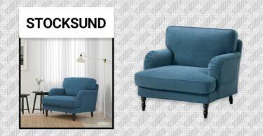 fauteuil vintage Stocksund en IKEA