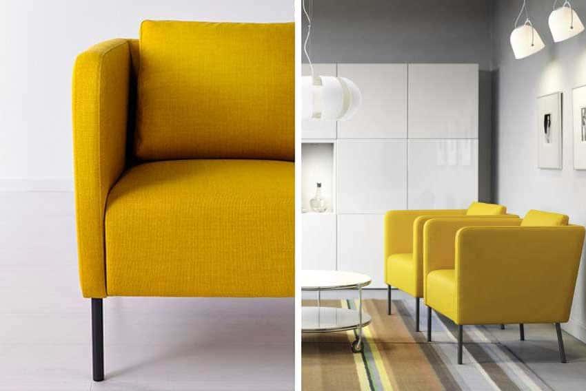 fauteuil Ekero dans salon