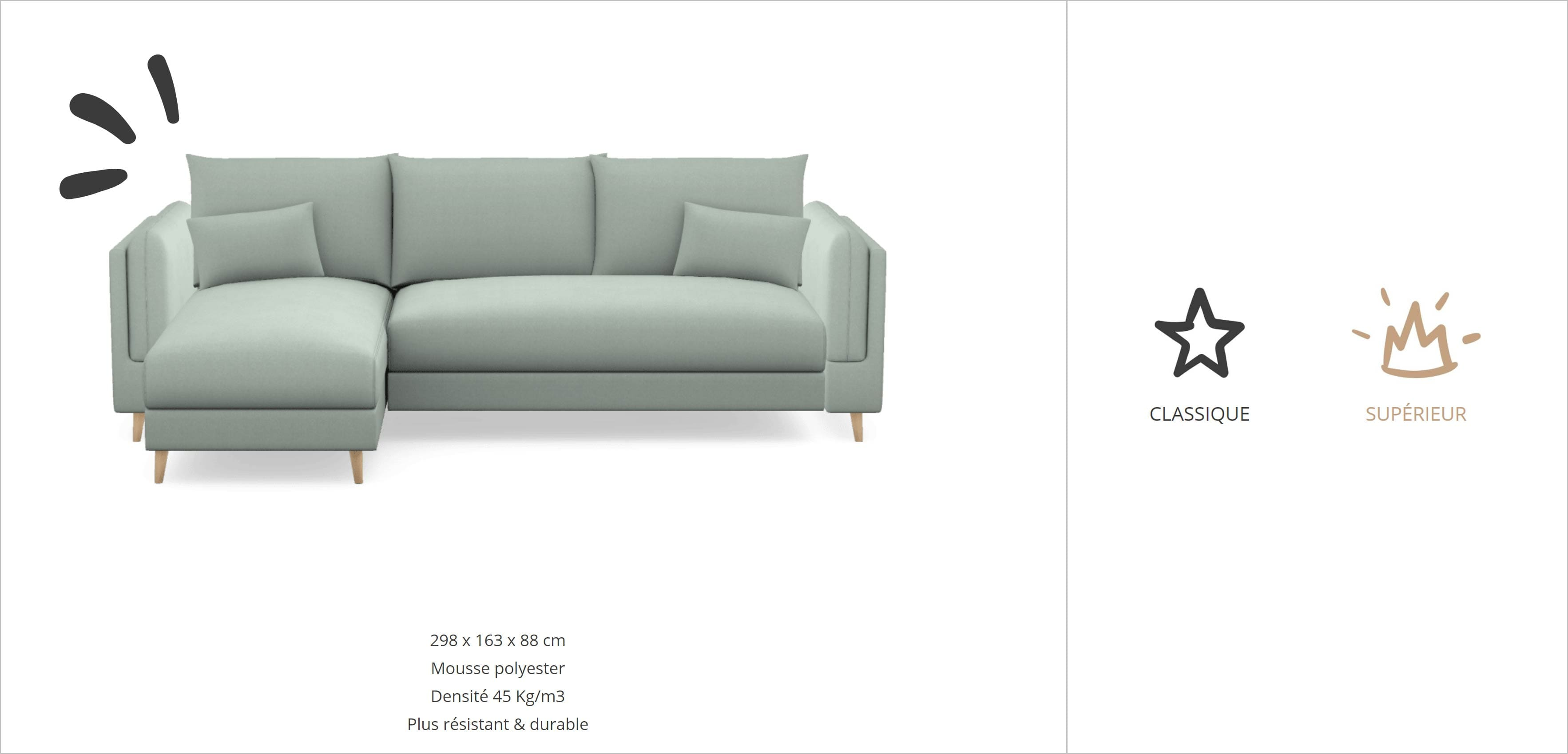 So Me Canapé sur mesure Maisons du Monde : confort d'assise