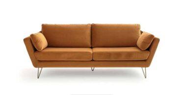 Avis du canapé en velours Topim de La Redoute