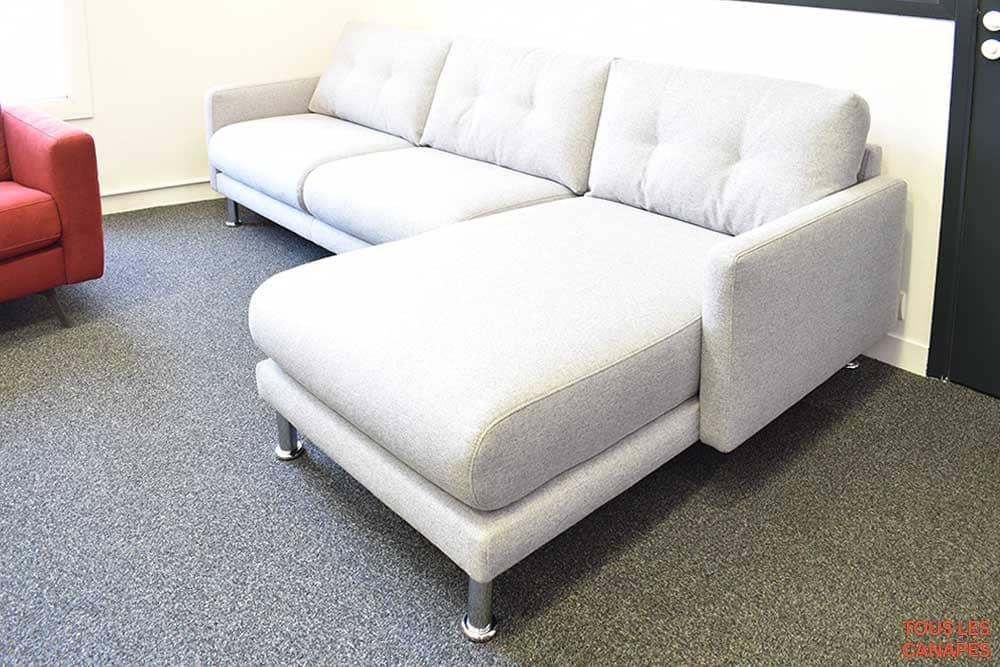 Canapé Brand Chaiselongue vue de côté - Touslescanapes.com