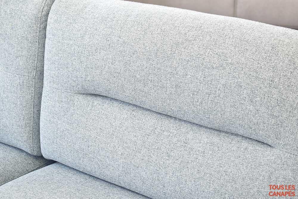 Canapé fixe en tissu Albert - Touslescanapaes.com